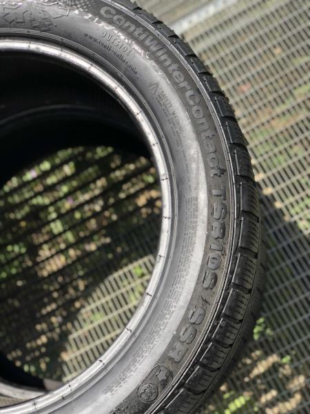 set 2 anvelope 245/50 R18 sh iarna Continental 5mm cu garantie 4