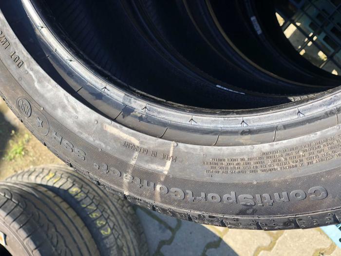 set 4 anvelope 225/50 R18 Runflat sh vara Continental 4.5mm cu garanti [4]