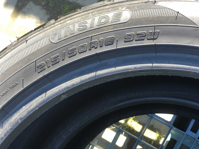 set 2 anvelope 215/50 R18 sh vara Falken 5mm cu garantie [4]