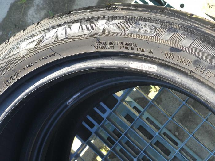 set 2 anvelope 215/50 R18 sh vara Falken 5mm cu garantie [5]