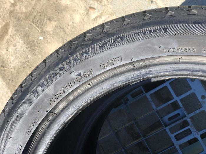 set 2 anvelope 215/50 R18 sh vara Bridgestone 5mm cu garantie [5]