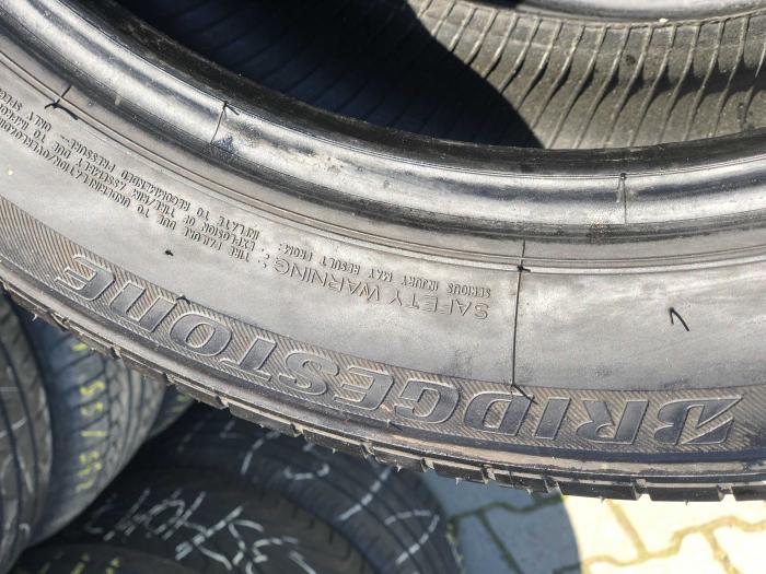 set 4 anvelope 235/50 R18 sh vara Bridgestone 6mm cu garantie [4]