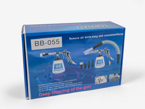 Pistol de curatat auto, BenBow 055 cu adaptor aspirator, pistol premium 11