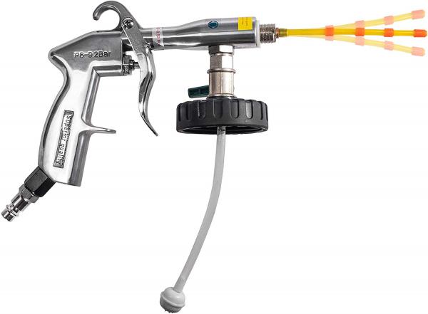 Pistol Premium, Dispozitiv de curatare interioare auto, Benbow 003 cu perie, 1000ml 5