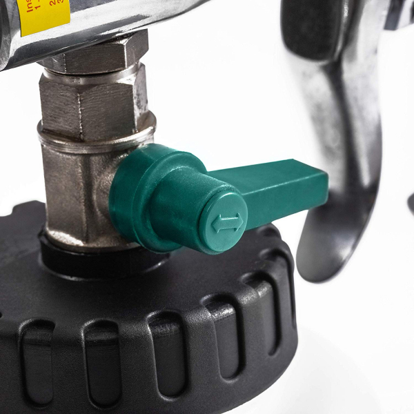 Pistol Premium, Dispozitiv de curatare interioare auto, Benbow 003 cu perie, 1000ml 8