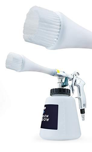 Pistol Premium, Dispozitiv de curatare interioare auto, Benbow 003 cu perie, 1000ml 2