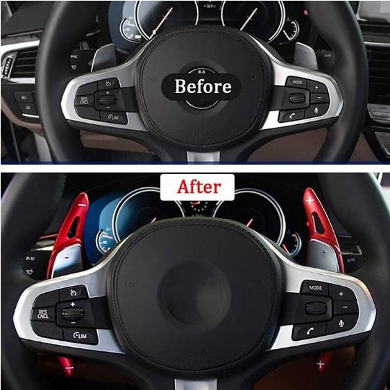 Set 2 padele volan pentru BMW, Shift Paddle, BMW 3 5 6 7 X3 X4 X5,G20 G30 G31 G32 G12 G01 G02 G05 [3]