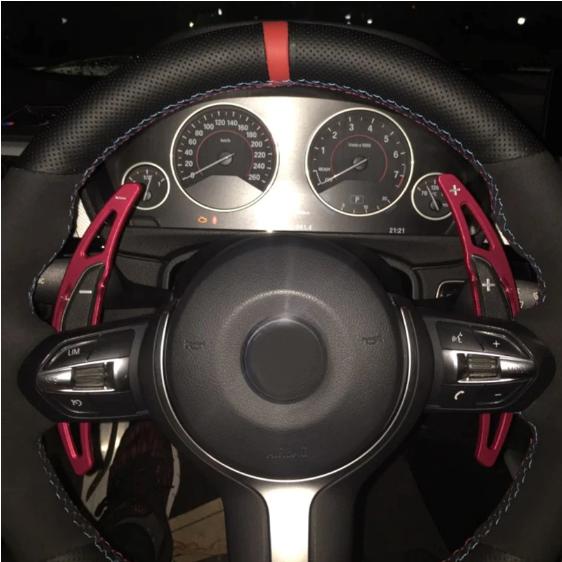 Set 2 padele volan pentru BMW, Shift Paddle, BMW M2 M3 M4 M5 M6 X5 X6 [1]