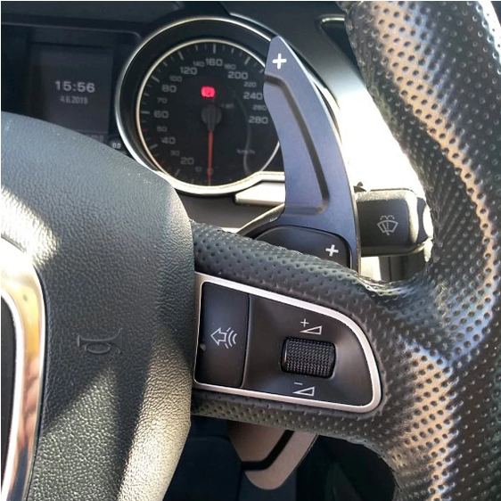 Set 2 padele volan pentru Audi, Shift Paddle, Audi A3 A4 A4L A5 A6 A7 A8 Q3 Q5 Q7 TT S3 R8 [5]