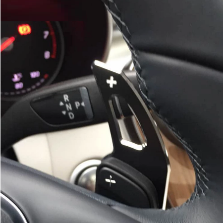 Set 2 padele volan pentru Mercedes-Benz, Shift Paddle, Benz ML GL CLA GLA GLK SL SLK Class W176 W246 C117 W212 W204 AMG [1]