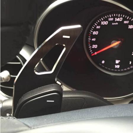 Set 2 padele volan pentru Mercedes-Benz, Shift Paddle, Benz ML GL CLA GLA GLK SL SLK Class W176 W246 C117 W212 W204 AMG [2]