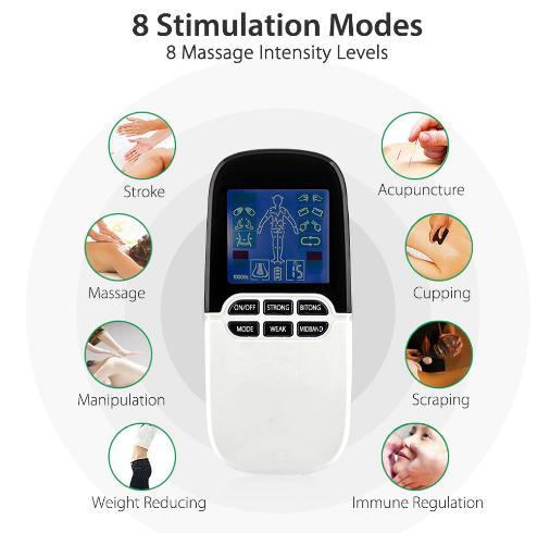 Aparat masaj, ingrijire, sinuzita si terapie cu stimuli a pulsului [2]
