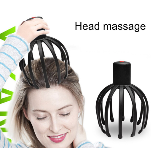 Aparat terapeutic masaj capilar scalp pentru stres 4