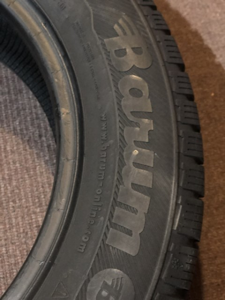 set 2 anvelope 185/65 r15 sh iarna Barum 7.5mm cu garantie 2