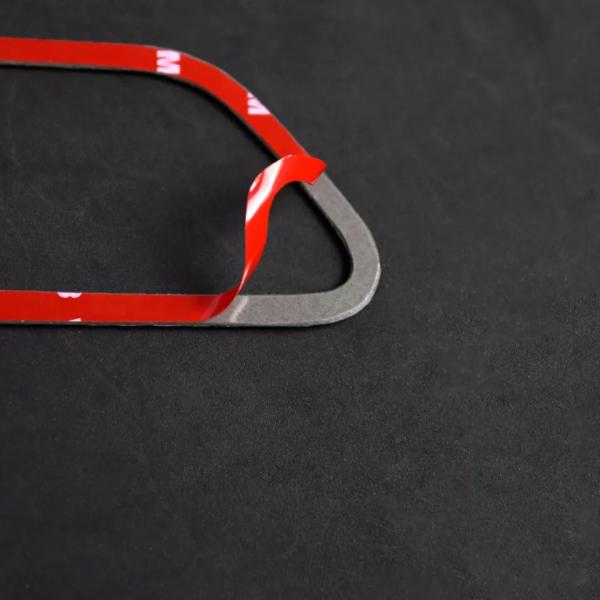 set 4 ornamente fibră de carbon pentru BMW culoare M 5