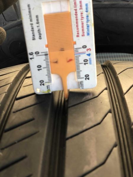set 2 anvelope 215/50 r17 sh vara Toyo 6.5mm cu garantie [5]