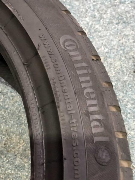 set 2 anvelope 205/45 R17 sh iarna Continental 7mm cu garantie 2