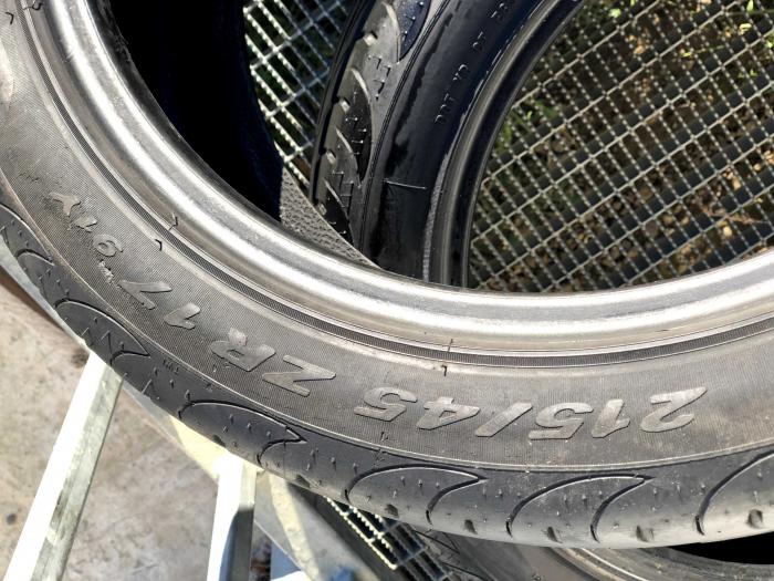 set 2 anvelope 215/45 R17 sh vara Pirelli 6.5mm cu garantie 5