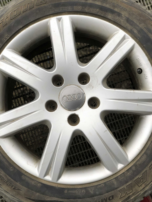 set 4 jante aliaj Audi 7.5Jx18H2 ET53 R18 sh [0]