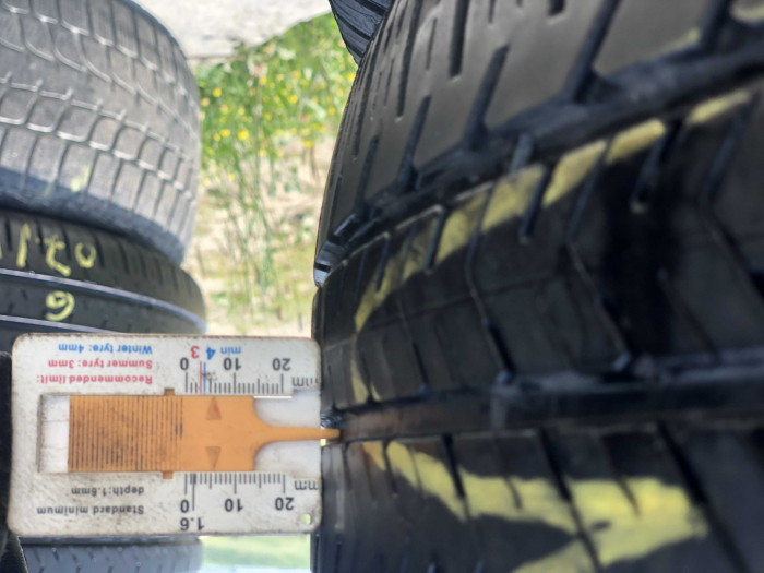 set 2 anvelope 215/65 R16C 106/104T sh vara M+S Michelin 5mm cu garantie [7]