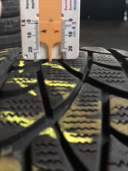 set 2 anvelope 215/60 r17C sh iarna Dunlop 7mm cu garantie 5