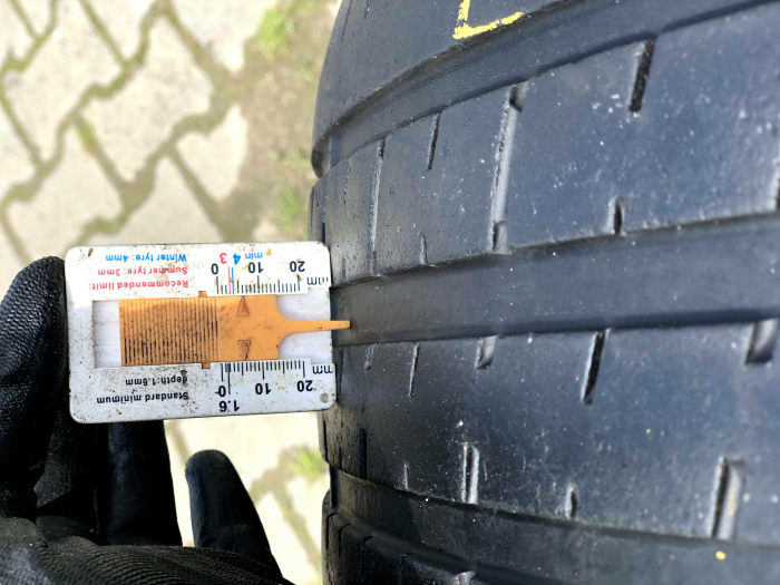 set 2 anvelope 255/35 R19 sh vara Pirelli 5mm cu garantie [6]