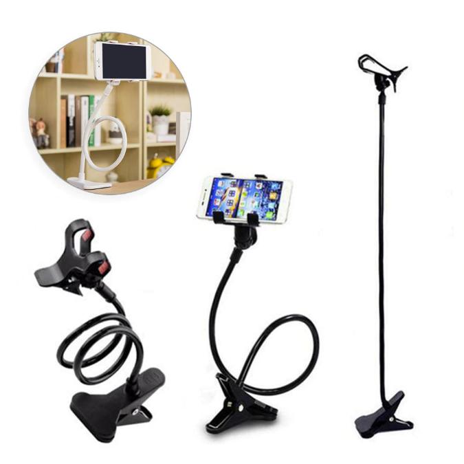 Suport rotativ flexibil 360 grade universal brat lung pentru telefon 2