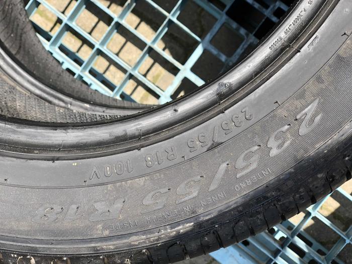 set 2 anvelope 235/55 R18 sh vara Pirelli 5.5mm cu garantie [5]