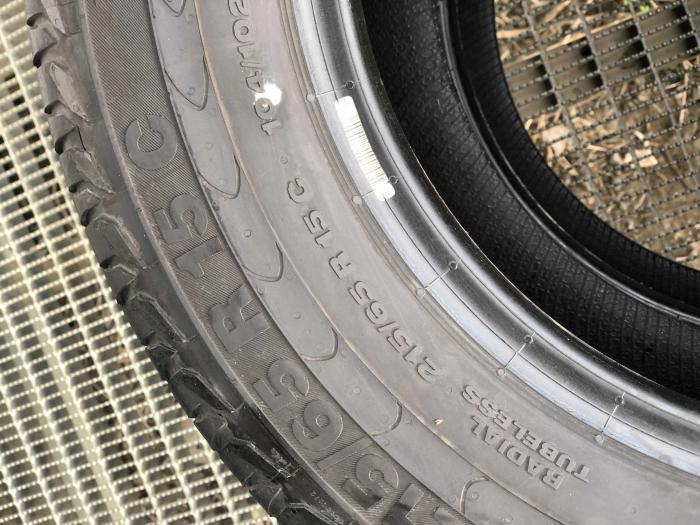 set 2 anvelope 215/65 R15C  sh vara Continental 7mm cu garantie [6]