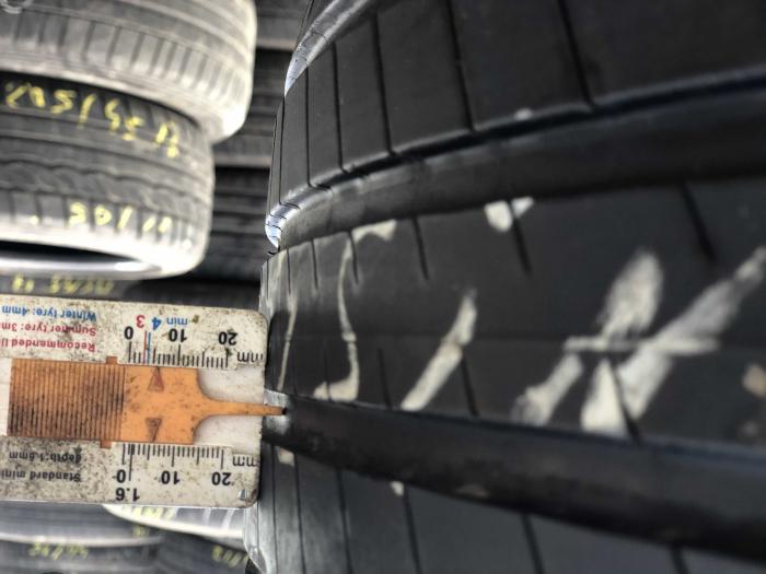 set 4 anvelope 235/55 R18 sh vara Michelin 5mm cu garantie [6]