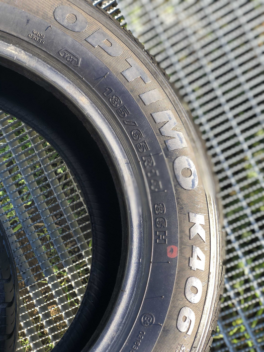 set 2 anvelope 185/65 R14 sh vara Hankook 6.5mm cu garantie [4]