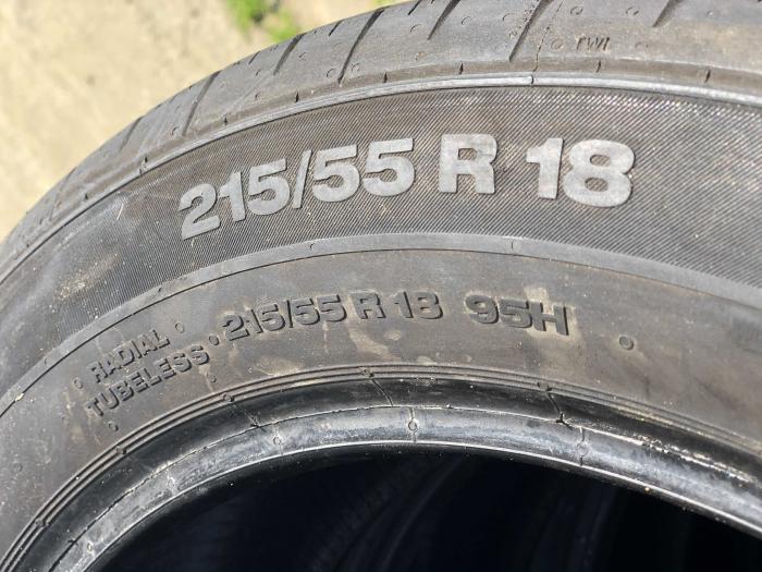 set 4 anvelope 215/55 R18 sh vara Continental 6mm cu garantie [11]
