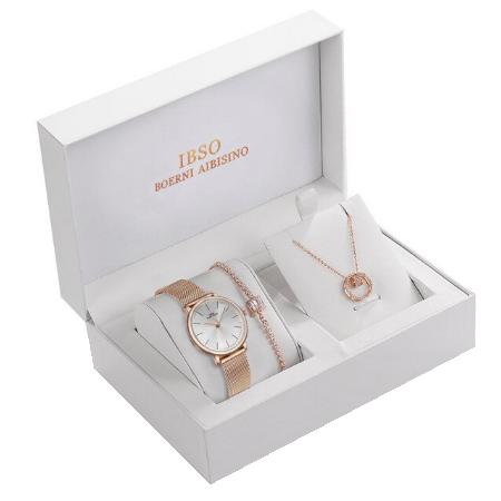 Set 3 buc pentru femei ceas, bratara, colier, luxury [0]