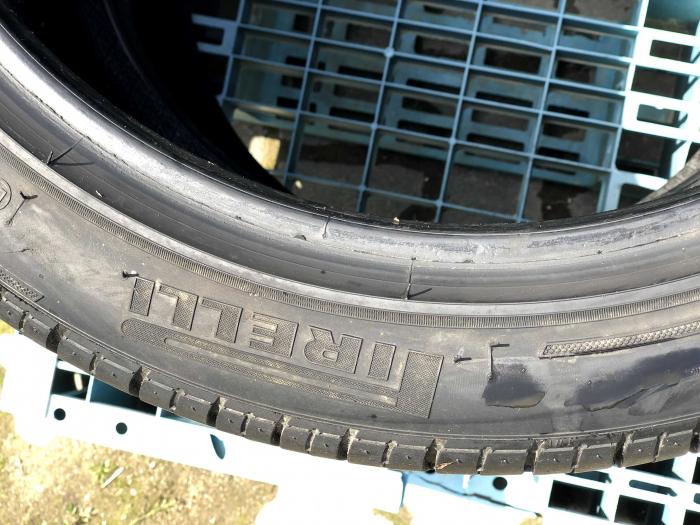 set 2 anvelope 255/40 R19 sh vara Pirelli 4.5mm cu garantie [5]