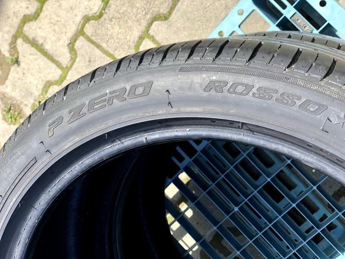 set 2 anvelope 255/40 R19 sh vara Pirelli 4.5mm cu garantie [4]