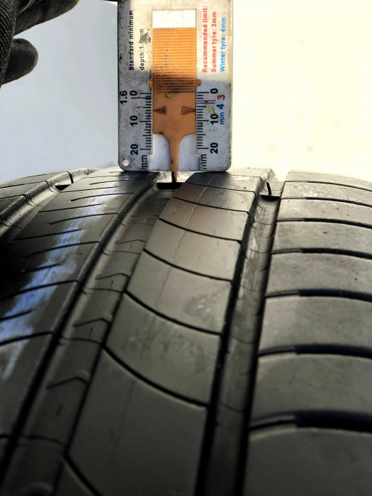 set 4 anvelope 205/55 R16 sh vara Michelin 6mm cu garantie 4