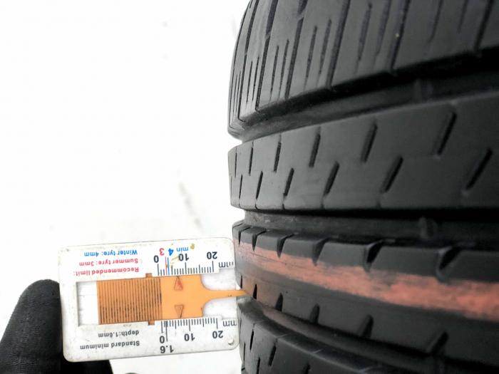 Set 4 anvelope 215/45 R17 sh vara Bridgestone 6.5mm cu garantie 5