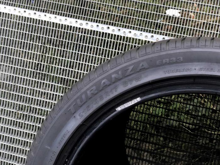 Set 4 anvelope 215/45 R17 sh vara Bridgestone 6.5mm cu garantie 3