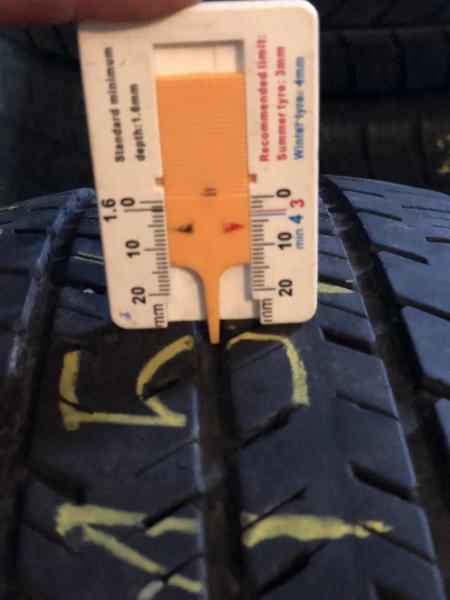 set 4 anvelope 215/65 R15c sh vara Michelin 6 mm cu garantie 5