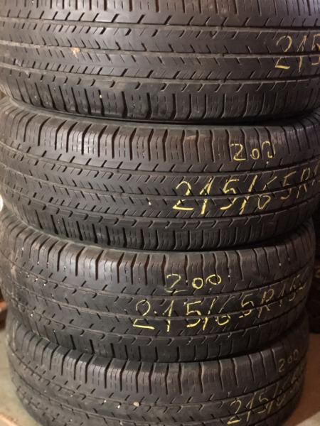 set 4 anvelope 215/65 R15c sh vara Michelin 6 mm cu garantie 0
