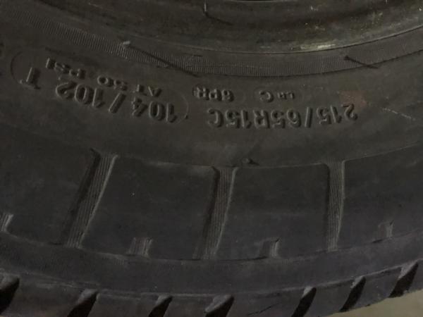 set 4 anvelope 215/65 R15c sh vara Michelin 6 mm cu garantie 3