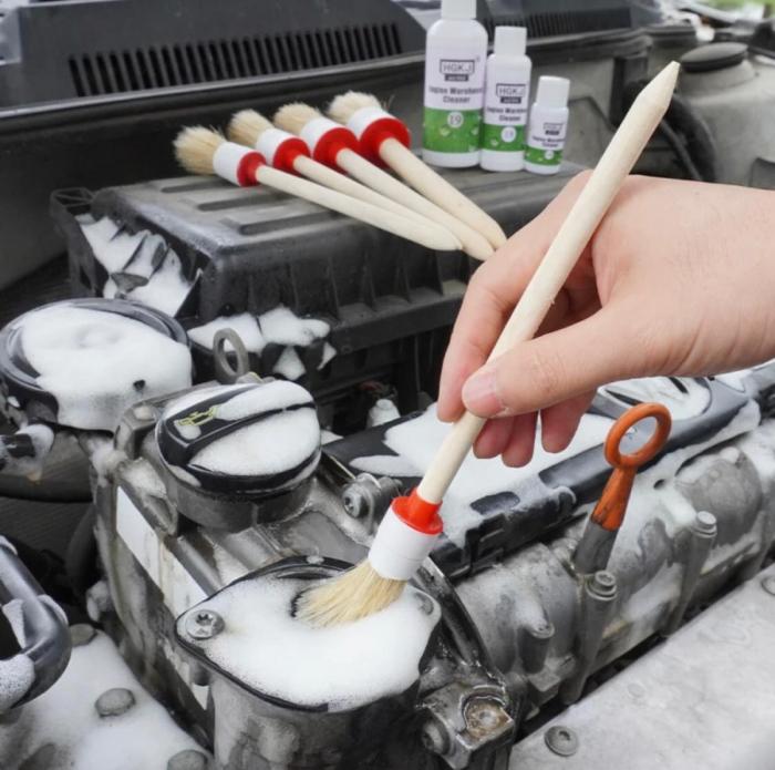 Set 5 perii pentru curatat interior auto [7]