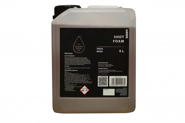 Shot Foam, solutie spumanta pentru curatarea tapiteriilor textile, 5L 1