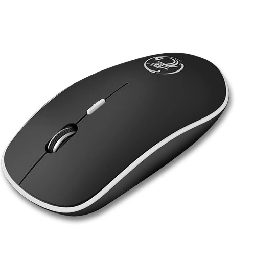 Mouse Wireless, 2.4Ghz USB, Wireless, negru 0