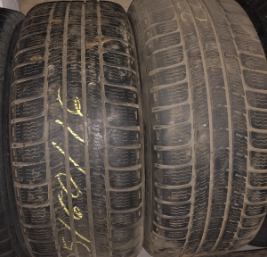 set 2 anvelope 225/60 R16 sh iarna Michelin 5mm cu garantie0