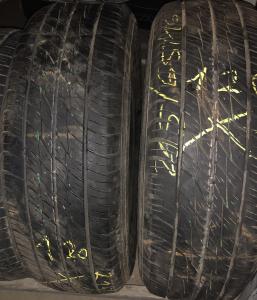 set 2 anvelope 215/65 R16 sh M+S Dunlop 5mm cu garantie0