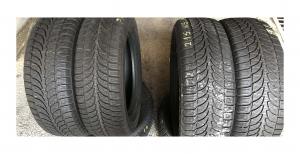 set 4 anvelope 215/65 R16 sh iarna Bridgestone 7.2mm cu garantie0