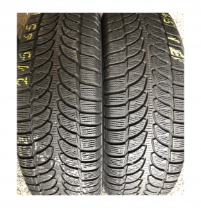 set 4 anvelope 215/65 R16 sh iarna Bridgestone 7.2mm cu garantie5