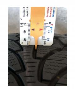 set 4 anvelope 215/65 R16 sh iarna Bridgestone 7.2mm cu garantie3
