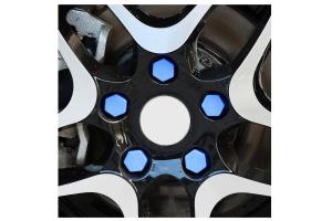 Set 20 capace prezoane pe 19 mm din silicon colorate0